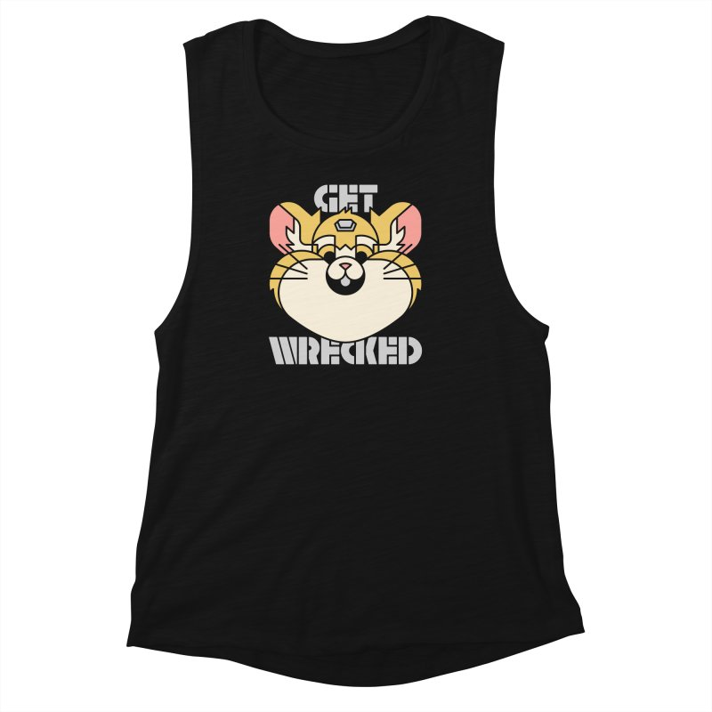 Get Wrecked Women's Muscle Tank by Spencer Fruhling's Artist Shop