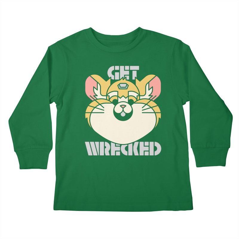 Get Wrecked Kids Longsleeve T-Shirt by Spencer Fruhling's Artist Shop