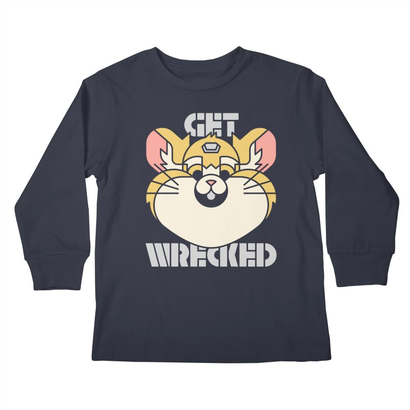 Get Wrecked Kids Longsleeve T-Shirt by Spencer Fruhling's Artist Shop