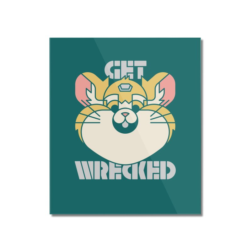 Get Wrecked Home Mounted Acrylic Print by Spencer Fruhling's Artist Shop