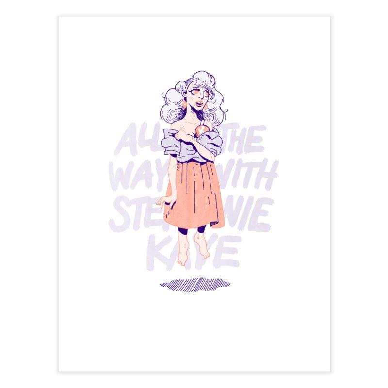 Kiss Me, Steph Home Fine Art Print by Spencer Fruhling's Artist Shop