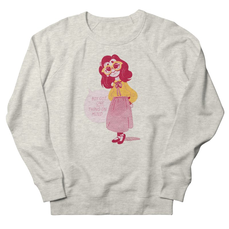 The Big Dance Men's French Terry Sweatshirt by Spencer Fruhling's Artist Shop