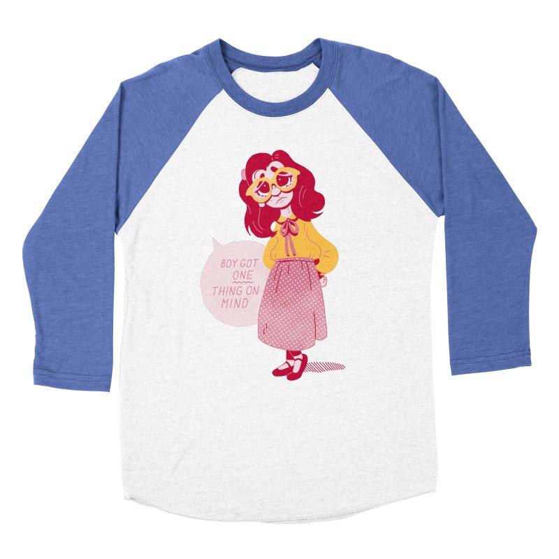 The Big Dance Women's Baseball Triblend Longsleeve T-Shirt by Spencer Fruhling's Artist Shop