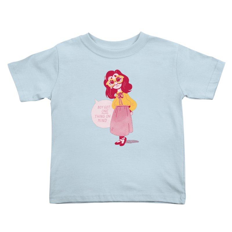 The Big Dance Kids Toddler T-Shirt by Spencer Fruhling's Artist Shop