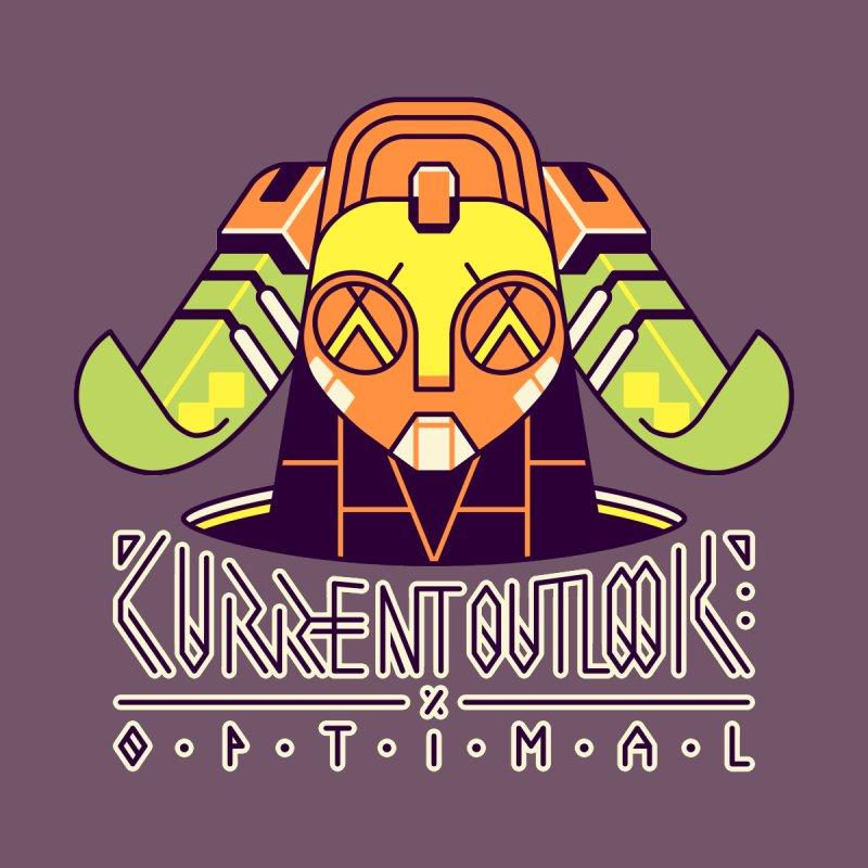 Current Outlook: Optimal Men's T-Shirt by Spencer Fruhling's Artist Shop