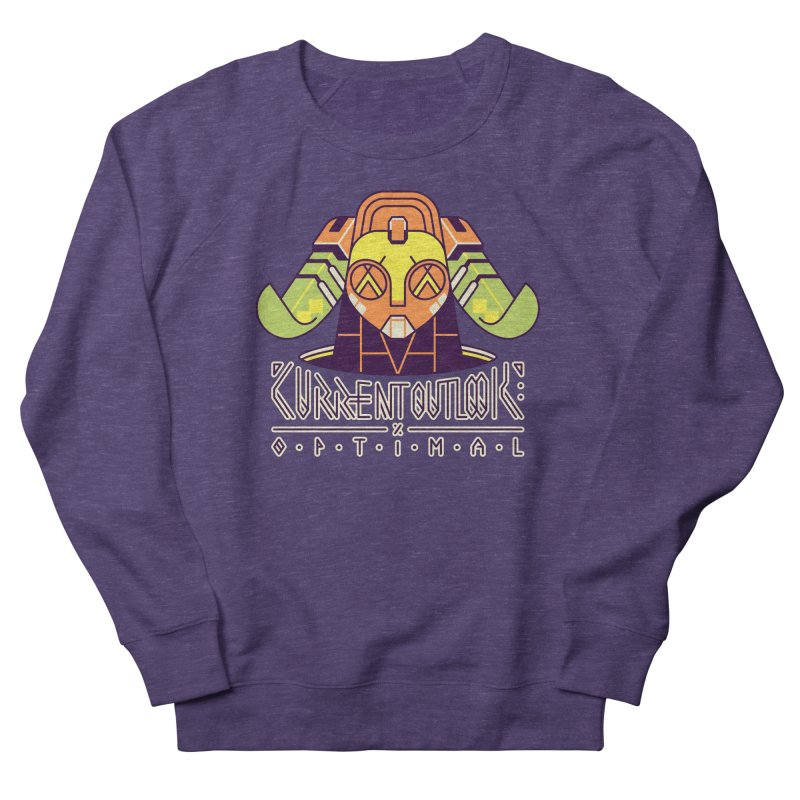 Current Outlook: Optimal Men's French Terry Sweatshirt by Spencer Fruhling's Artist Shop