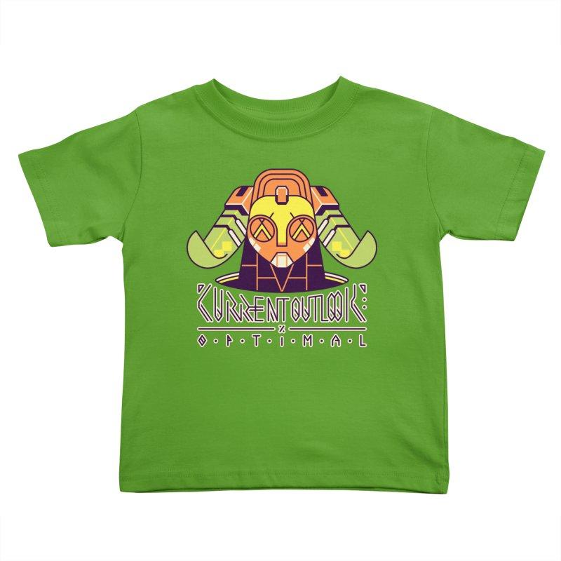 Current Outlook: Optimal Kids Toddler T-Shirt by Spencer Fruhling's Artist Shop