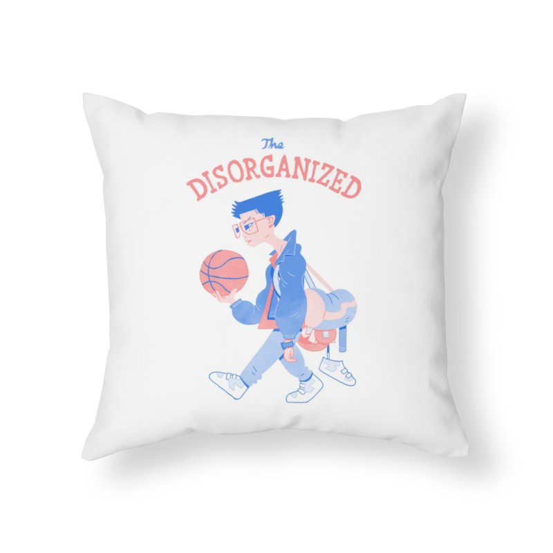The Experiment Home Throw Pillow by Spencer Fruhling's Artist Shop