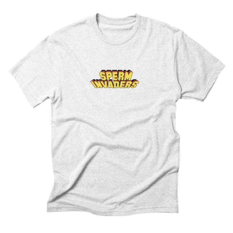 Sperm Invaders Men's Triblend T-shirt by Sperm Invaders