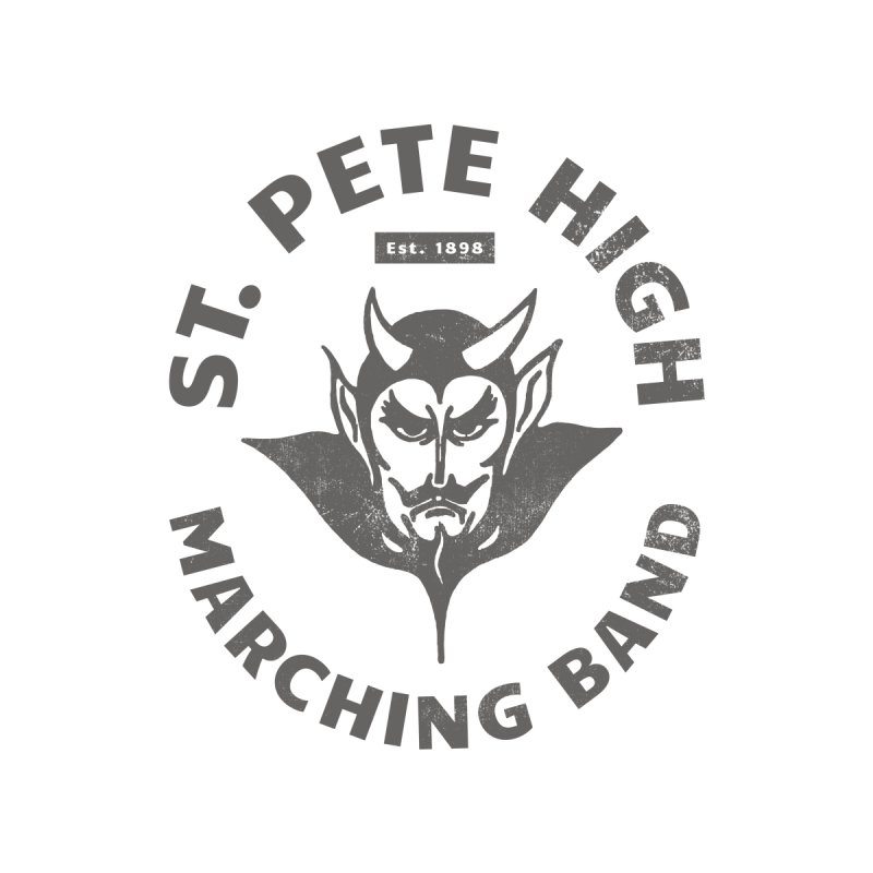 St. Pete High Marching Band Devil Women's Sweatshirt by sphsband's Artist Shop