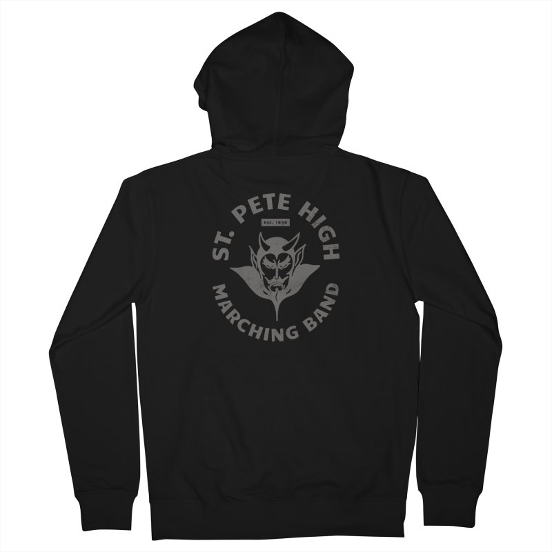 St. Pete High Marching Band Devil Women's Zip-Up Hoody by sphsband's Artist Shop