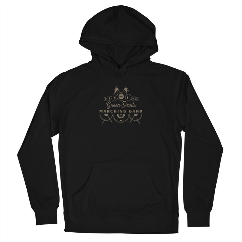 Green Devils Marching Band Women's Pullover Hoody by sphsband's Artist Shop