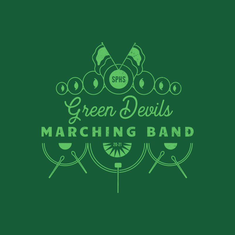 Green Devils Marching Band Accessories Mug by sphsband's Artist Shop