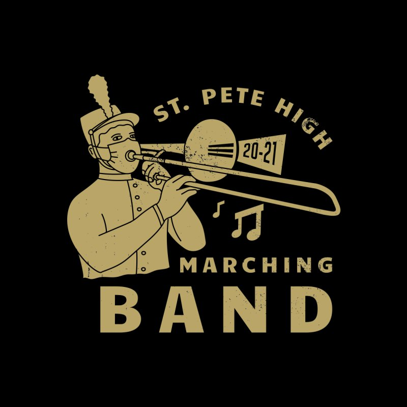SPHS Marching Band 20-21 Men's T-Shirt by sphsband's Artist Shop