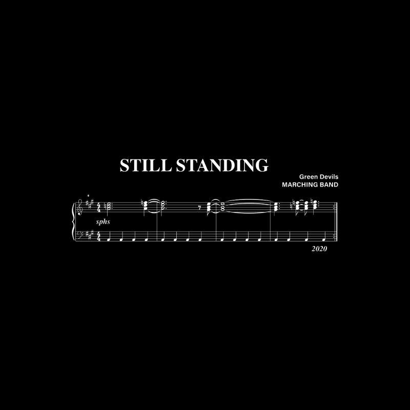 Still Standing Music Men's T-Shirt by sphsband's Artist Shop