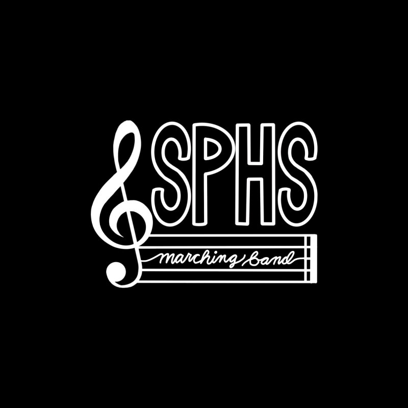 Marching Band Men's T-Shirt by sphsband's Artist Shop