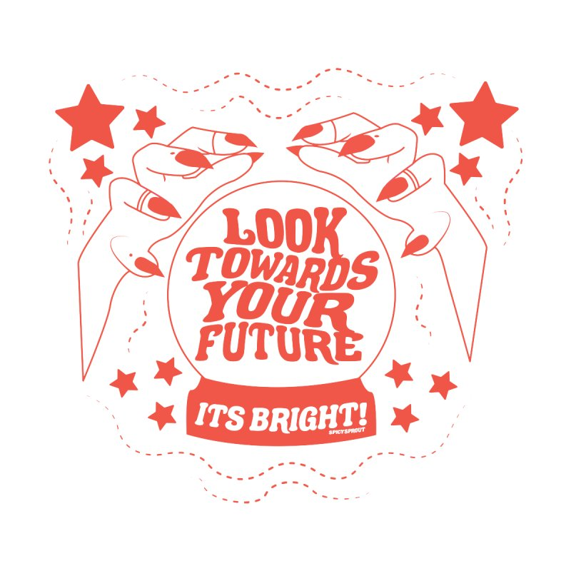 I See Your Future Men's T-Shirt by spicysprout's Artist Shop