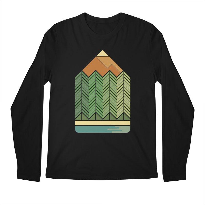 Draw landscape Men's Longsleeve T-Shirt by spike00