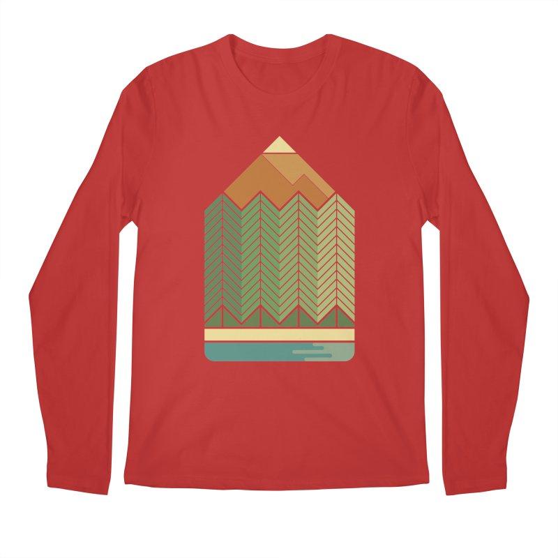 Draw landscape Men's Regular Longsleeve T-Shirt by spike00