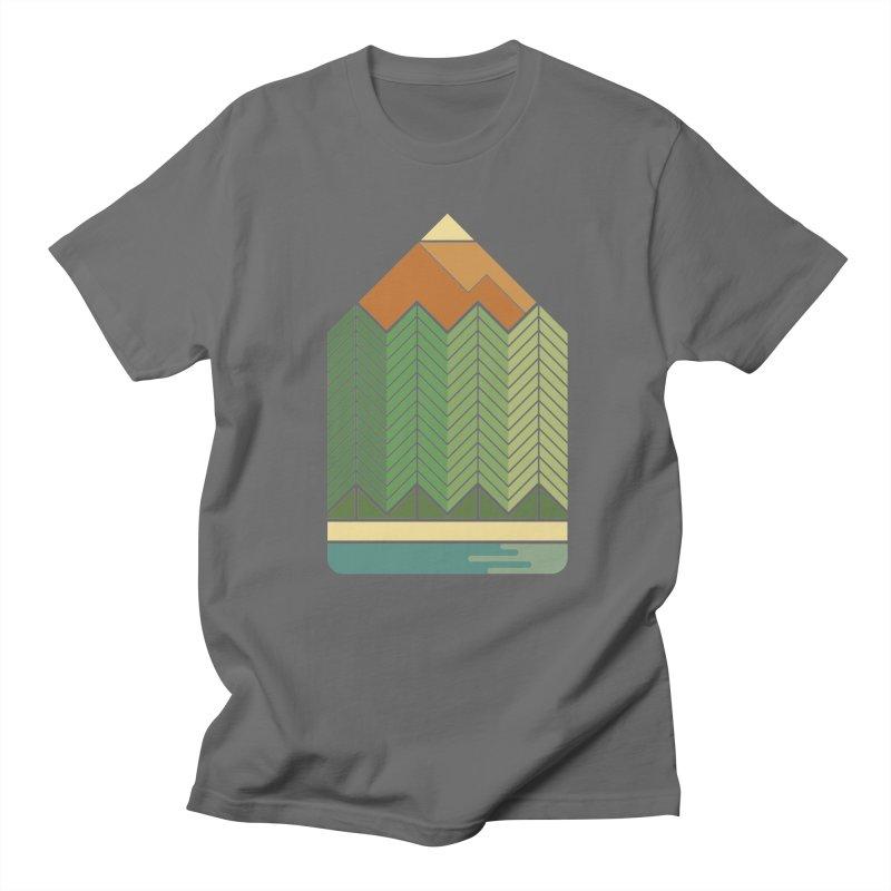 Draw landscape Men's T-shirt by spike00
