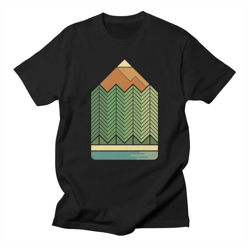 Draw landscape Men's T-Shirt by spike00