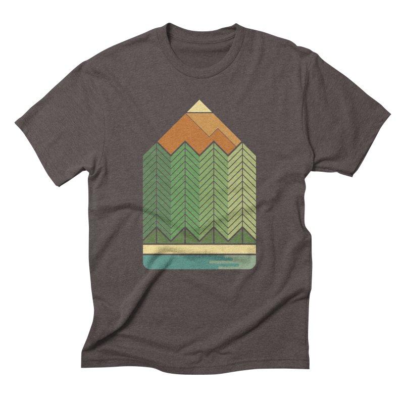 Draw landscape Men's Triblend T-shirt by spike00