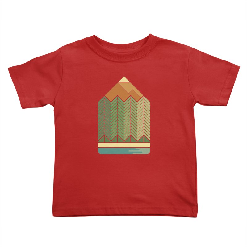 Draw landscape Kids Toddler T-Shirt by spike00