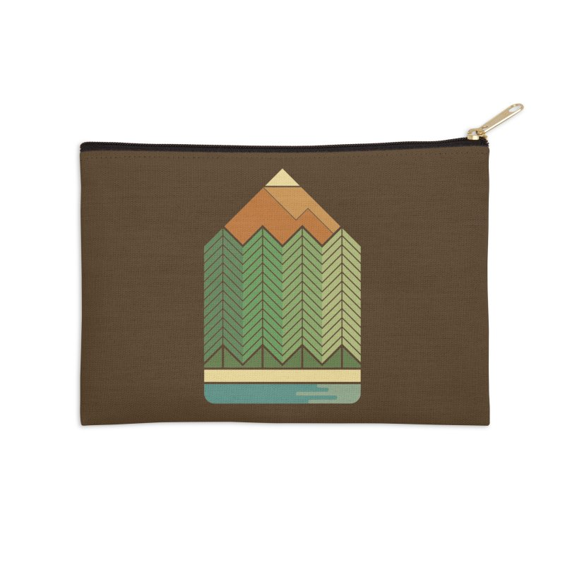 Draw landscape Accessories Zip Pouch by spike00