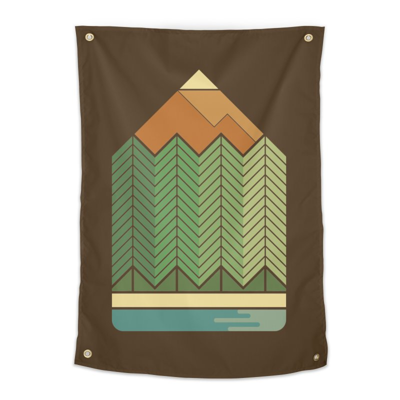 Draw landscape Home Tapestry by spike00