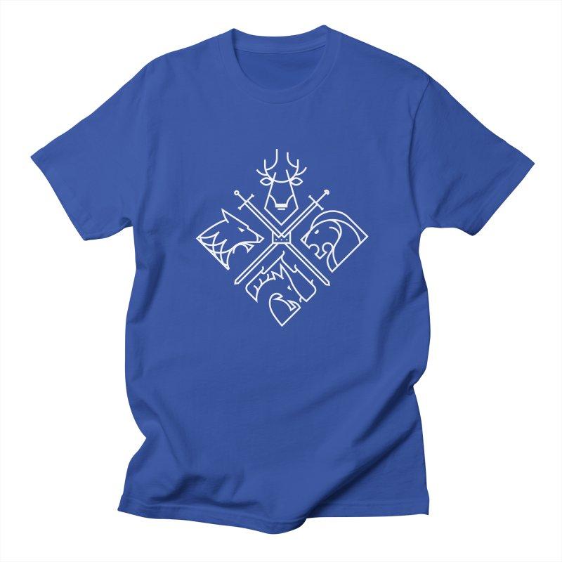 Minimal Thrones Men's Regular T-Shirt by spike00