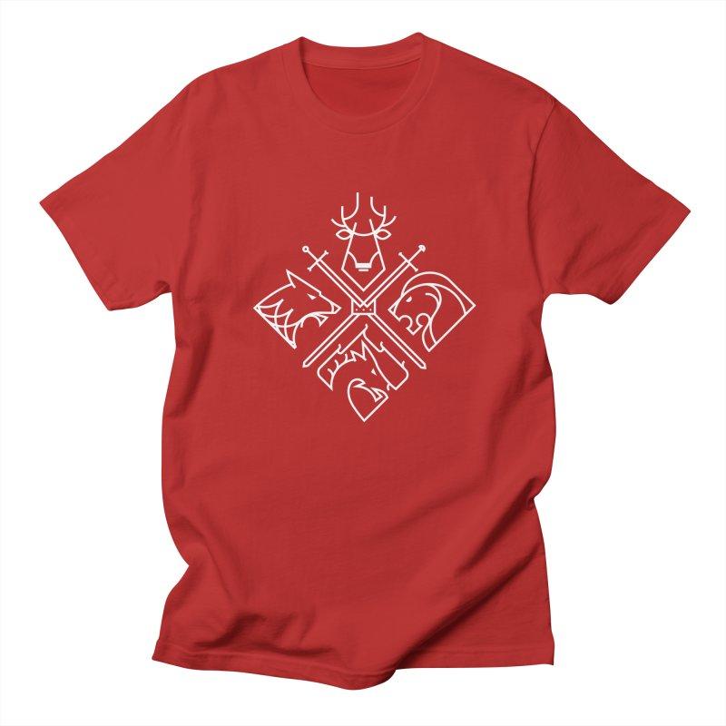 Minimal Thrones Men's T-shirt by spike00