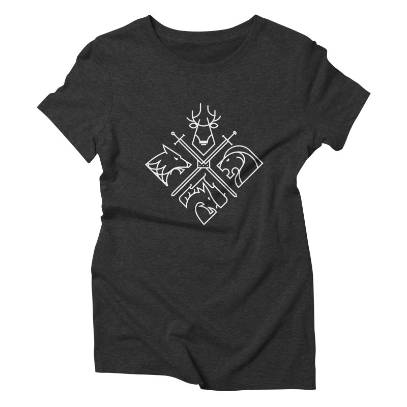 Minimal Thrones Women's Triblend T-shirt by spike00