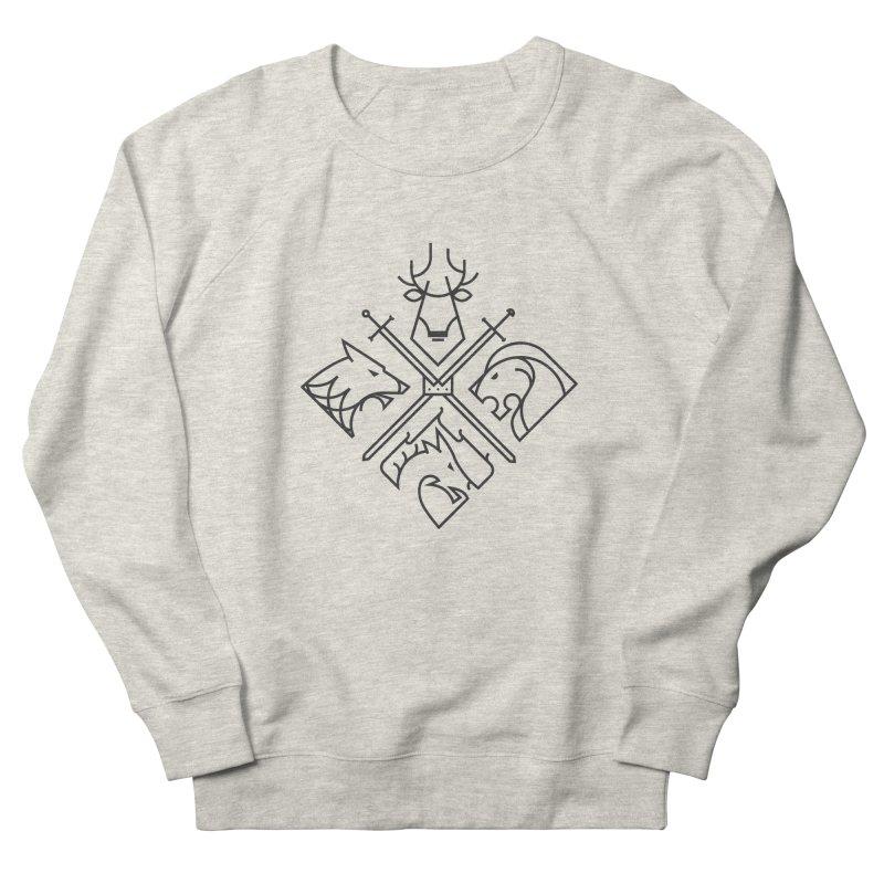 Minimal Thrones Black edition Women's Sweatshirt by spike00
