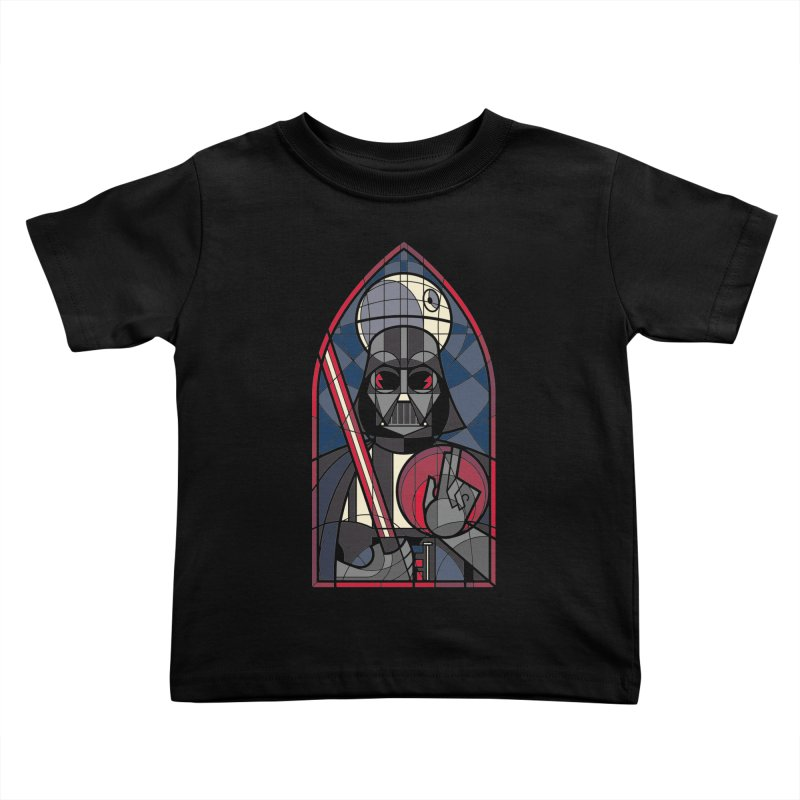 DARK LORD Kids Toddler T-Shirt by spike00