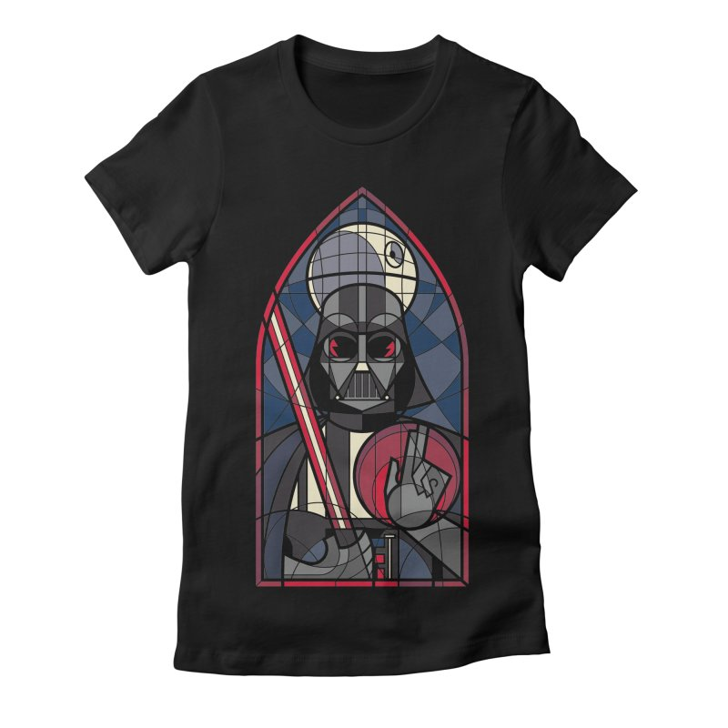 DARK LORD Women's Fitted T-Shirt by spike00