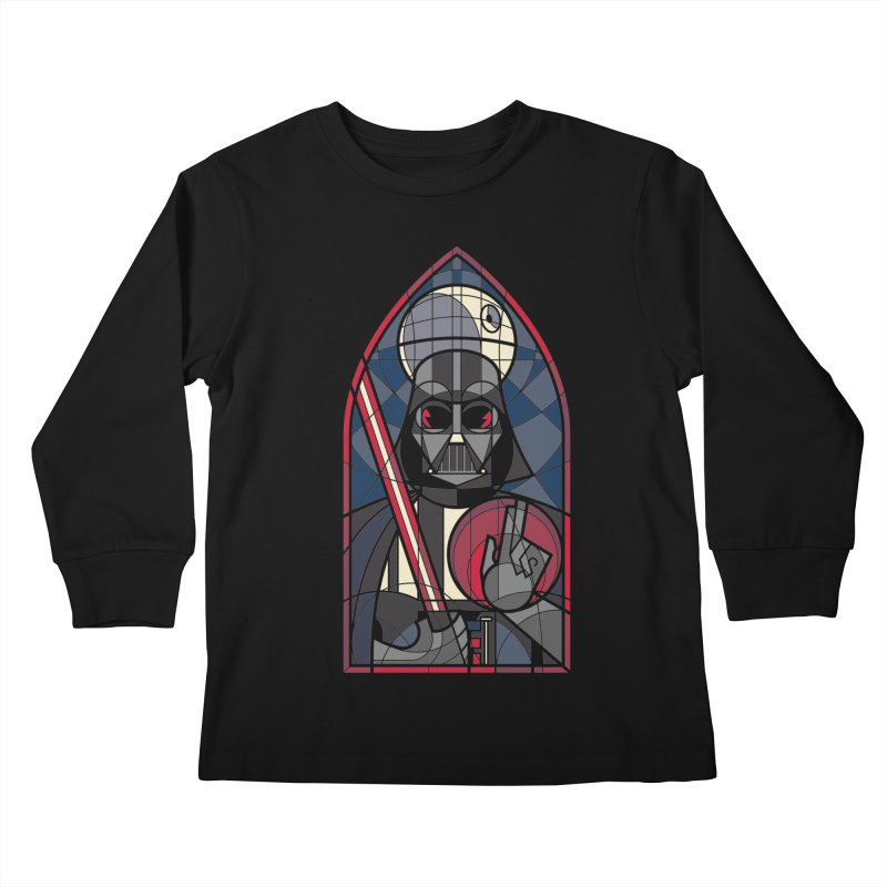 DARK LORD Kids Longsleeve T-Shirt by spike00