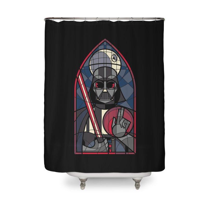 DARK LORD Home Shower Curtain by spike00