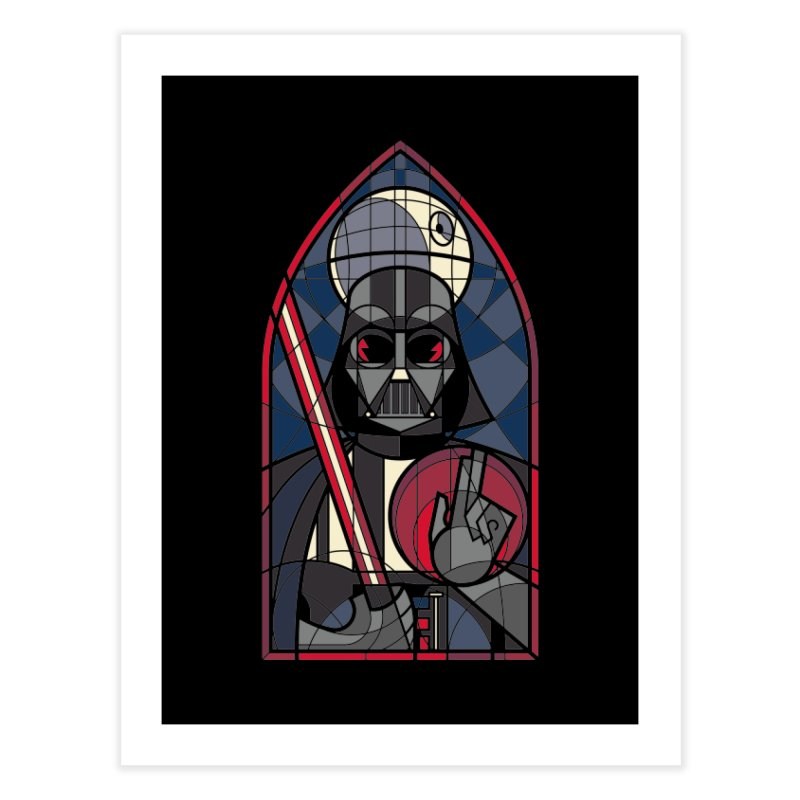 DARK LORD Home Fine Art Print by spike00