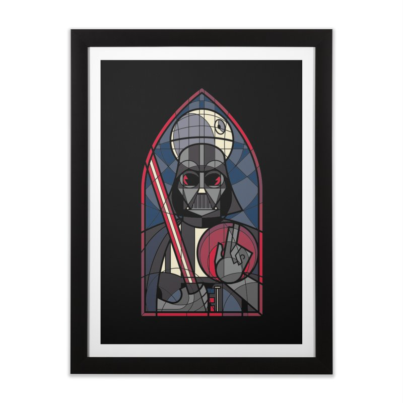 DARK LORD Home Framed Fine Art Print by spike00