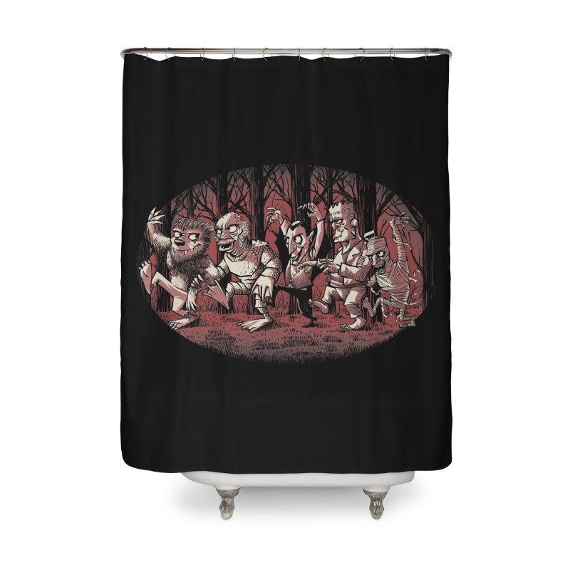 Where the wild monsters are Home Shower Curtain by spike00