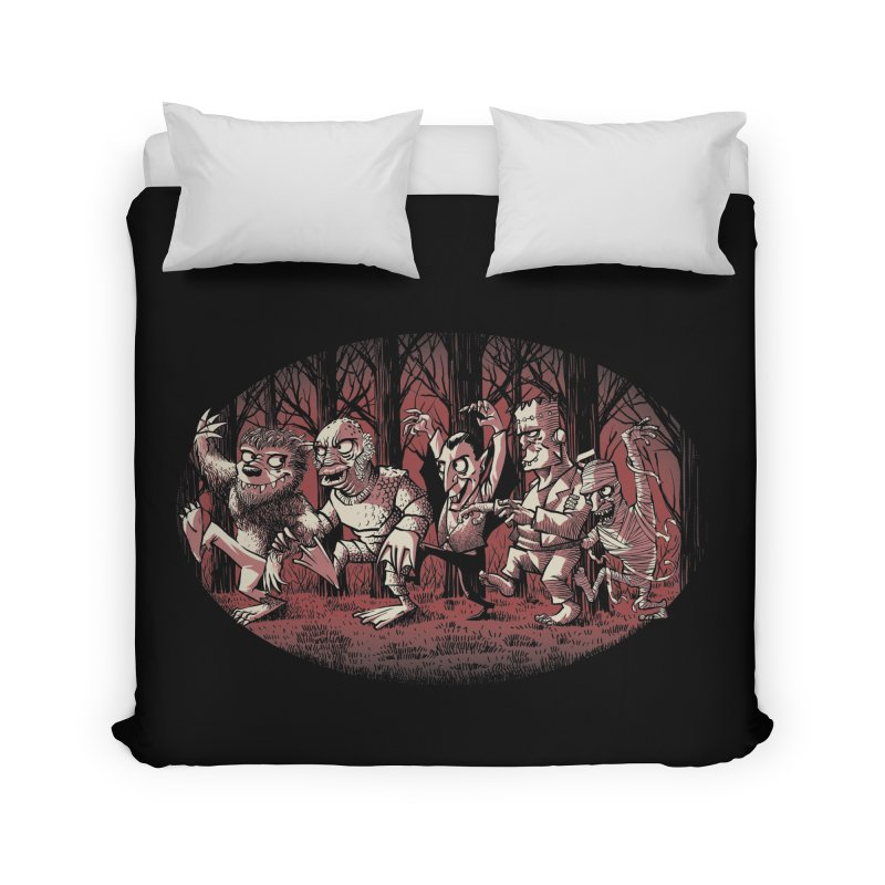 Where the wild monsters are Home Duvet by spike00