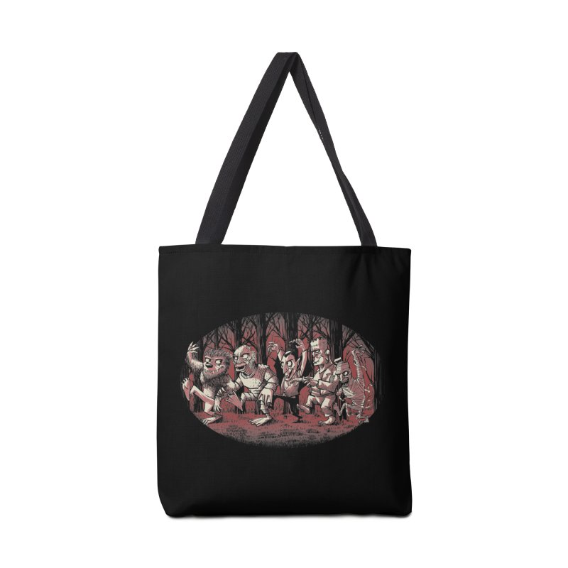 Where the wild monsters are Accessories Tote Bag Bag by spike00