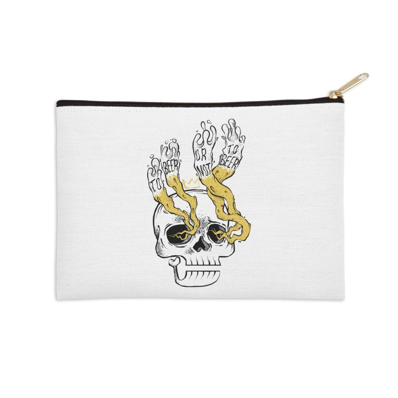 to beer or not to beer Accessories Zip Pouch by spike00