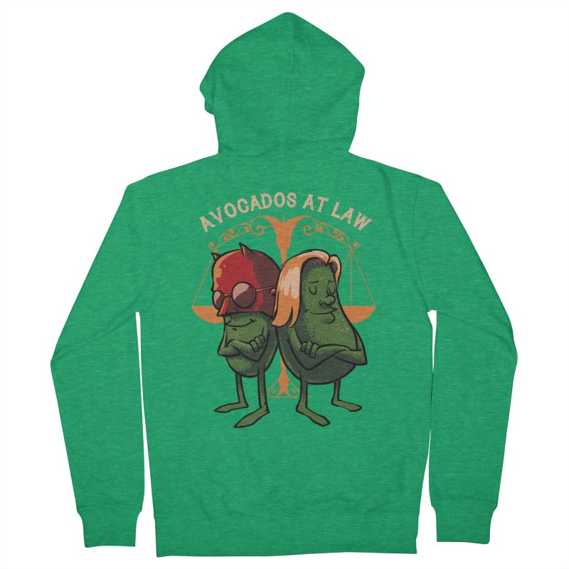 Avocados at law Women's Zip-Up Hoody by spike00