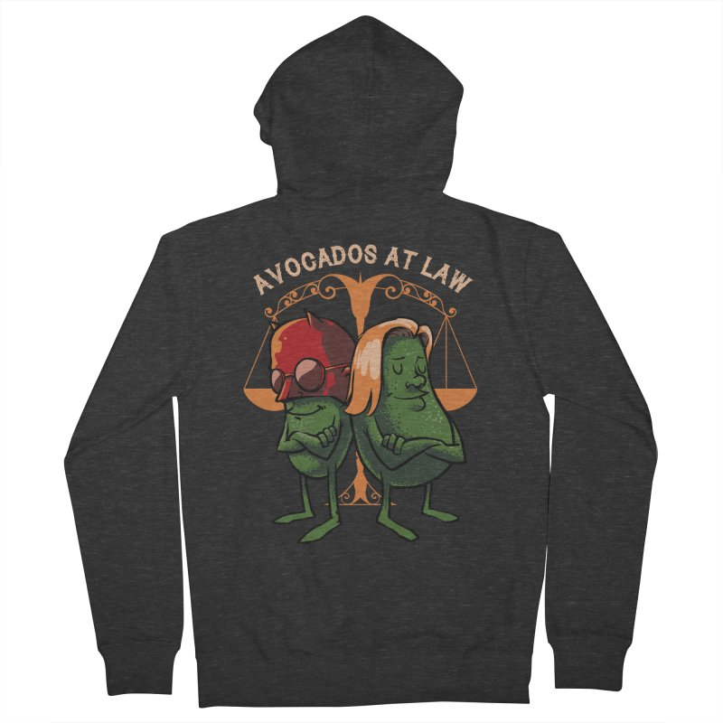 Avocados at law Men's Zip-Up Hoody by spike00