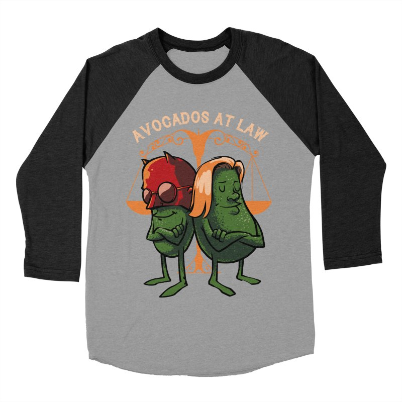 Avocados at law Men's Baseball Triblend T-Shirt by spike00
