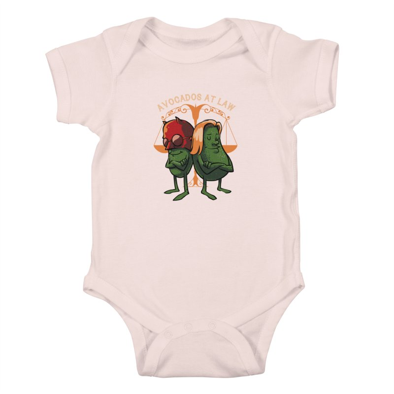 Avocados at law Kids Baby Bodysuit by spike00
