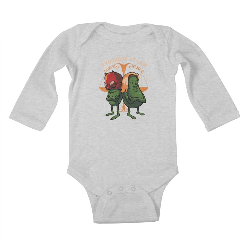 Avocados at law Kids Baby Longsleeve Bodysuit by spike00