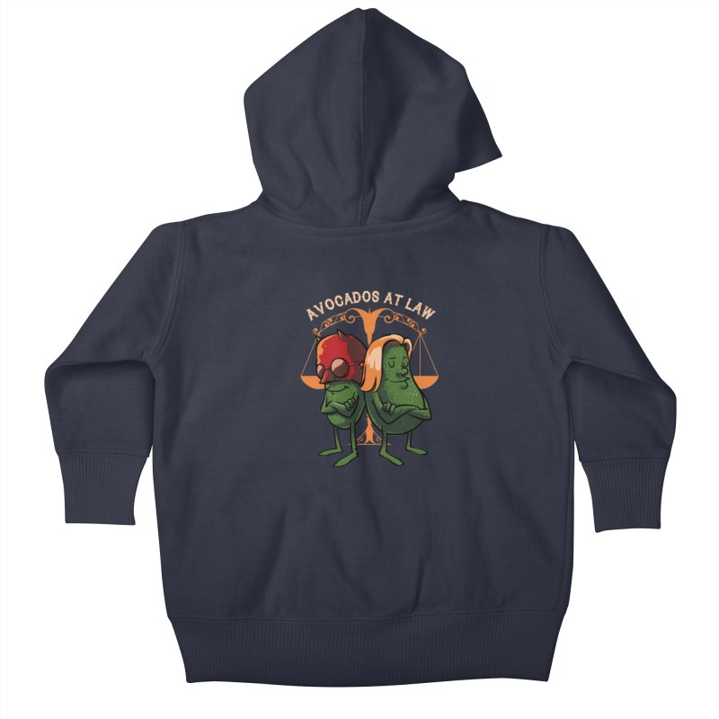 Avocados at law Kids Baby Zip-Up Hoody by spike00