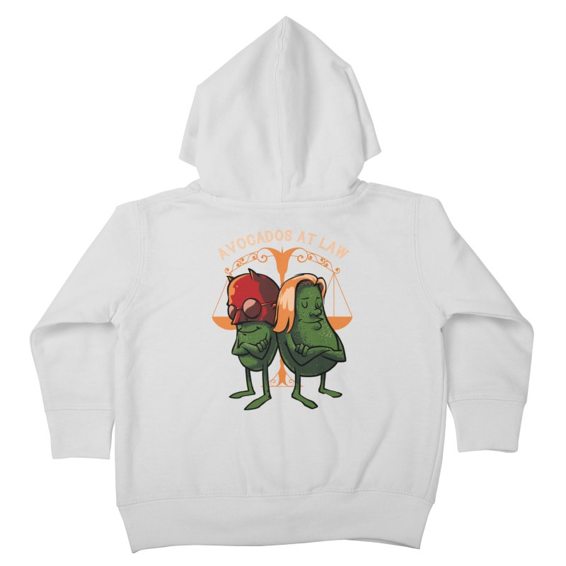 Avocados at law Kids Toddler Zip-Up Hoody by spike00